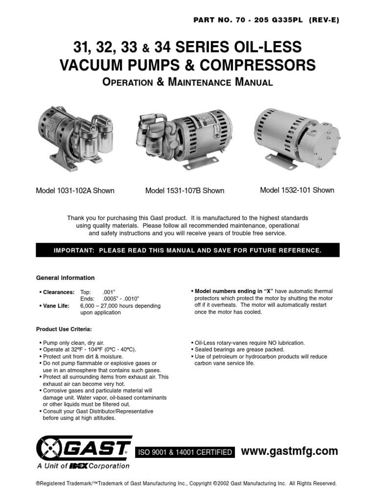 Gast Motor Wiring Diagram   Wiring Diagram on