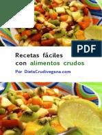 LEER - Recetas Faciles Alimentos Crudos