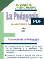 Pedagogía y Docencia