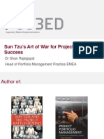 Sun Tzu's Art of War for Project Delivery Success
