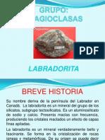Labradorita silicatos