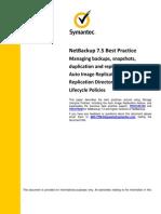 NetBackup 7.5 Best Practice - Using Storage Lifecycle Policies