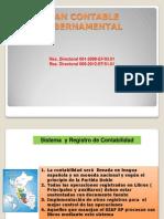 El Plan Cntable Gubernamental
