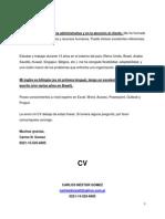 Cv Admin Mini + Carta