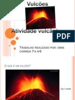 Apresentação1 vulcão
