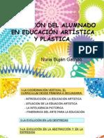Evolución plástica alumnado