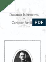 Resúmen Informativo de Carácter Artillero (1944)