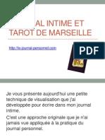 Journal Intime et Tarot de Marseille
