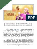 Papa Francisco en Santa Martha. 27-09-2013. Viernes XXV Semana T.O.