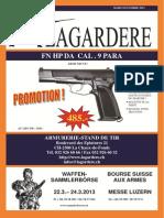 fierarms catalogue Lagardaire Mars-Novembre 2013