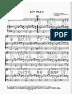 3 My Way (Frank Sinatra) - F (Selections)