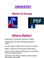 matter mixtures and the atom
