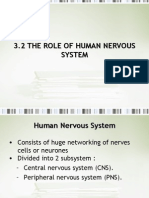 3.2 TheRoleOfTheHumanNervousSystem