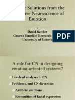 Cognitive Neuroscience of Emotions
