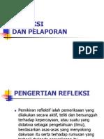 pengertian refleksi ppt