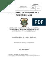 Pliegos Definitivos Licitacion Mvobra004