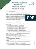 Comisiones Delegadas Del Gobierno