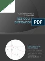 fisica reticoli di diffrazione