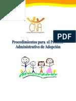 Procedimiento para el proceso de adopción CNA