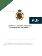 Ley_Organica Consejo Estado