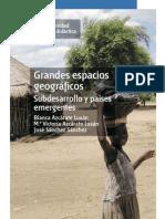 Índice del libro Grandes espacios geográficos