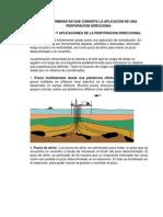 7.1 y 7.2objetivos y Aplicaciones de La Perforacion Direccional