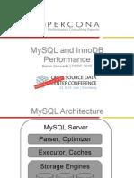 MySQL 和 InnoDB 性能