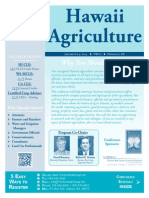 Hawaii Agriculture - The Seminar Group - January 8-9, 2014