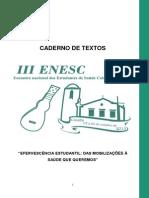 Caderno de Debate - EnESC - 2013