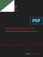 Retail Destination Europe 2013