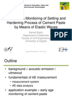 Spin Continuous Monitoring of Setting and Hardening Process of Cement Paste[1]