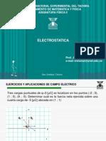Ejercicios de Campo Electrico y Fuerza e