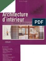 Architecture d'intérieur - Cours pratique et théorique