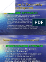 Approaches to Community Development
