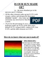 Solar Spectra Power Point Lesson Part 3 WHAT is OUR SUN MADE of[1] (1)