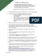 Format of Dissertation