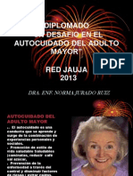 Diplomado en Autocuidado Al Adulto Mayor 2013