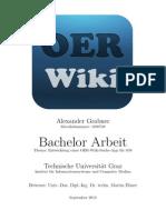 Entwicklung einer OER-Wiki-Suche-App für iOS