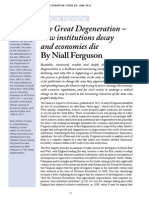 Review - The Great Degeneration