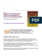 Asian Productivity Organization_Mergers and Acquisition - Issues and Perspectives From the Asia-Pacific
