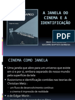 A janela do cinema e a identificação