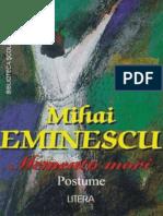 Mihai Eminescu - Volum Postume