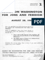 March on Washington Organizing Manual