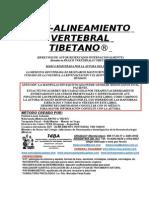 Avt- Alineamiento Vertebral Tibetano- Info y Decalogo