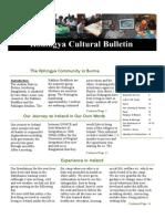 Rohingya Cultural Bulletin