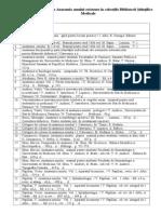 Lista Manualelor de Anatomie Din USMF