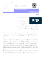 Seminario el ejercicio actual de la medicina - Toma de decisiones en Cirugia.docx