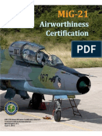 Appendix 14-MiG-21 Airworthiness Certification