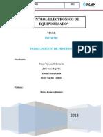 1° informe - Control electronico