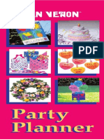 Booklet PartyPlanner